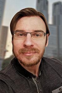 Portrait of Dr. <br>Thomas Efer